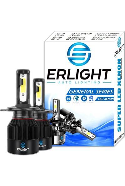 Eroğlu Erlıght H4 Ice Blue LED Xenon Far Güçlü Şimşek Etkili General Serisi