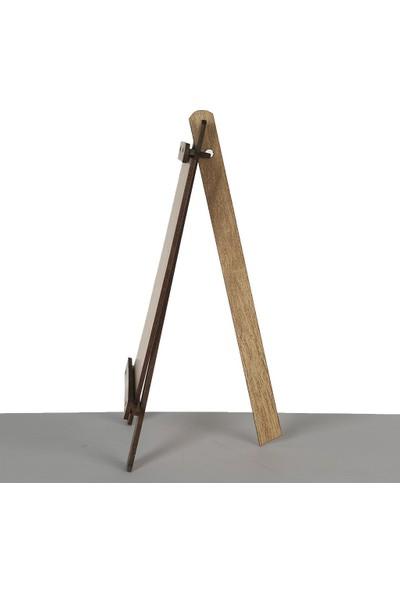 Gökkuşağı Küçük Ahşap Şövale 14 x 22 cm