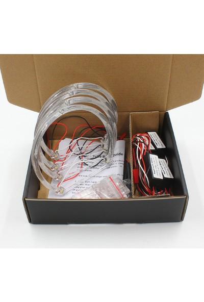 Femex Bmw E36 / E39 / E46 Ccfl Angel Eyes Encıl Halka Seti Kırmızı Renk