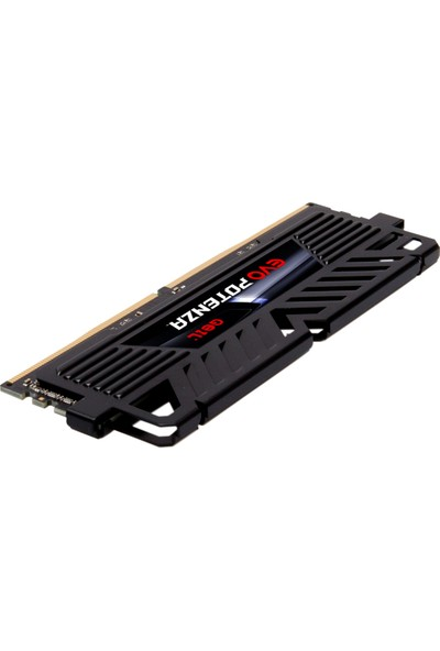 Geıl Evo Potenza-Amd Ryzen 8GB 3200MHz 1.35V CL16 Gamıng Pc Ram Black GAPB48GB3200C16ASC