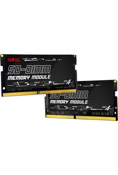 Geıl 8GB 2666MHz 1.2V CL19 DDR4 Notebook Ram GS48GB2666C19SC