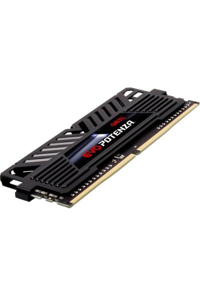 Geıl Evo Potenza-Amd Ryzen 8GB 3600MHz 1.35V CL18 Gamıng Pc Ram Black GAPB48GB3600C18BSC