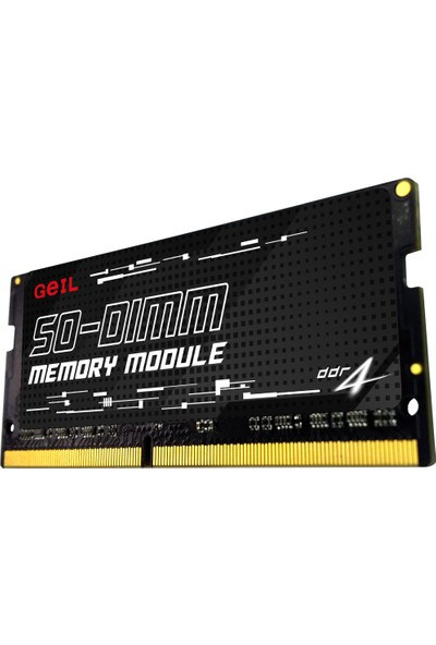 Geıl 16GB 2666MHz 1.2V cl 19 DDR4 Notebook Ram GS416GB2666C19SC