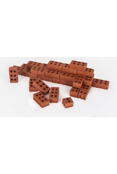 Eshel Minyatür 6 Delikli Tuğla 1000'li + Harç