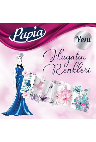 Papia Decor Kağıt Havlu 48 Rulo