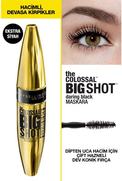 Maybelline New York The Colossal Big Shot Daring Black Maskara - Ekstra Siyah