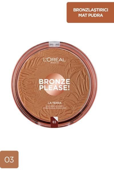 L'Oréal Paris Bronze Please! Bronzlaştırıcı Pudra 03 Amalfi Medio