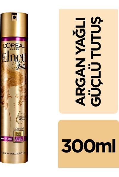 L'Oréal Paris Elnett Değerli Argan Yağı Güçlü Tutuş Saç Spreyi