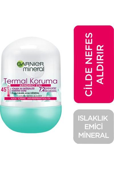 Garnier Mineral Termal Koruma Kadın Roll-On Deodorant