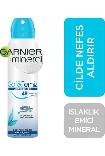 Garnier Mineral Saf ve Temiz Sprey Deodorant