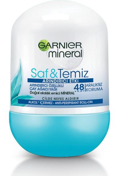 Garnier Mineral Saf ve Temiz Roll-On Deodorant
