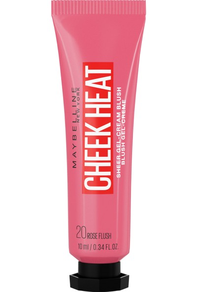 Maybelline New York Cheek Heat Likit Allık - 20 Rose Flash - Pembe