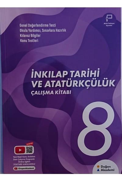 Doğan Akademi 8. Sınıf Inkılap Tarihi ve Atatürk Çalışma Kitabı