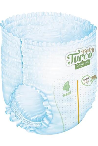 Baby Turco Doğadan Külot Bez 3 Numara Midi 34 Adet + 3X60 Baby Turco Doğadan Islak Havlu