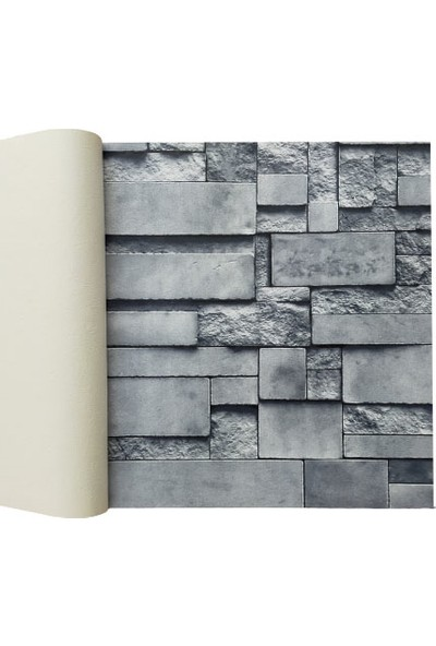 Golden 3 Boyutlu 13253 Taş Desenli Duvar Kağıdı (5m²) - Her Ürün Için Tutkal Hediye