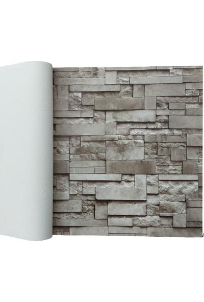 Golden 3 Boyutlu 12696 Taş Desenli Duvar Kağıdı (5m²) - Her Ürün Için Tutkal Hediye