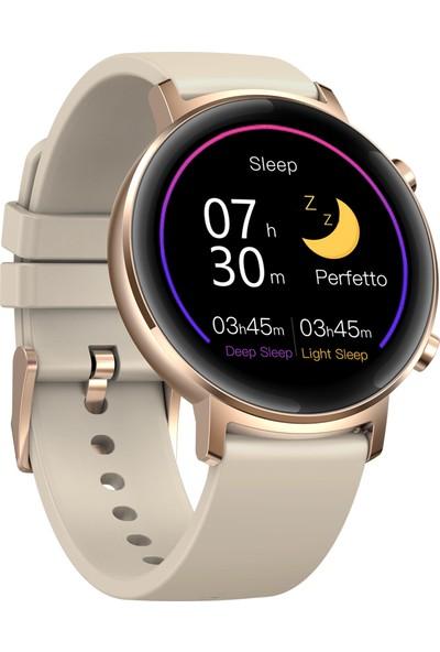 Zeblaze Gtr 1.3 Tam Dokunmatik Kavisli Ekran Bluetooth 5.1 Akıllı Saat - Altın (Yurt Dışından)