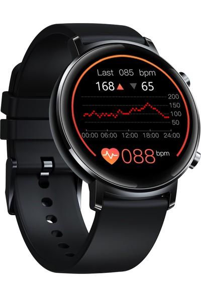 Zeblaze Gtr 1.3 '' Tam Dokunmatik Kavisli Ekran Akıllı Saat - Siyah (Yurt Dışından)