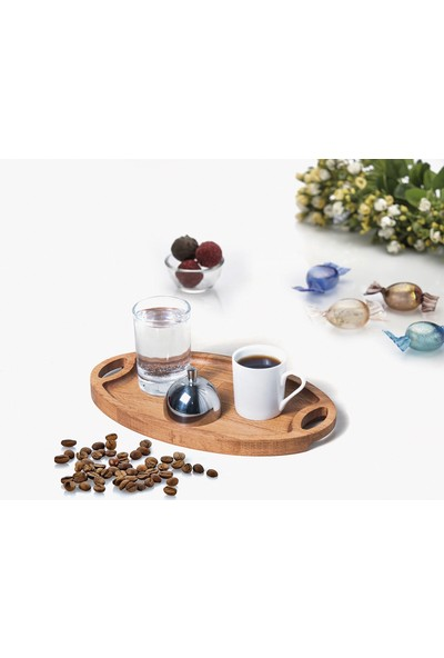 Biradlı Türk Kahve Sunum Seti