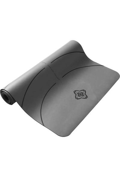 Domyos Yoga Matı - 5 mm - Gri - Grıp+ Domyos 8500978