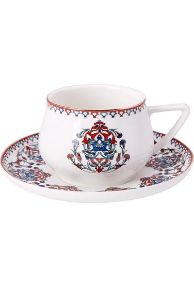 Karaca Nakkaş 4 Kişilik Çay Fincan Takımı