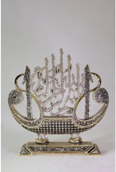 Doruk Hediyelik Elif-Gemi Besmele Gold