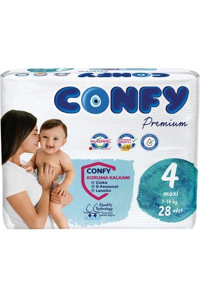 Confy Premium Bebek Bezi 4 Beden Maxi 28 Adet
