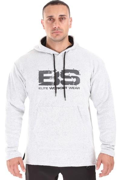 Big Sam Kapşonlu Havlu Kışlık Sweatshirt Oversize 4717
