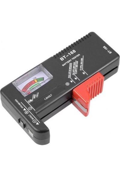 Alfa BT168D Dijital Pil Kapasite Test Cihazı Aa Aaa C D Pil Kapasite Ölçer