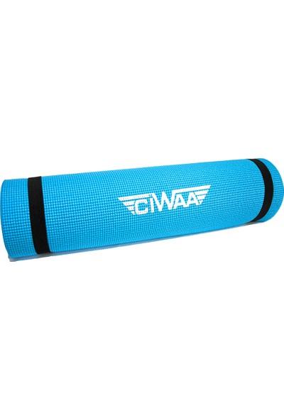 Ciwaa CWA-2032 Pvc Pilates Yoga Minderi 10 mm Turkuaz