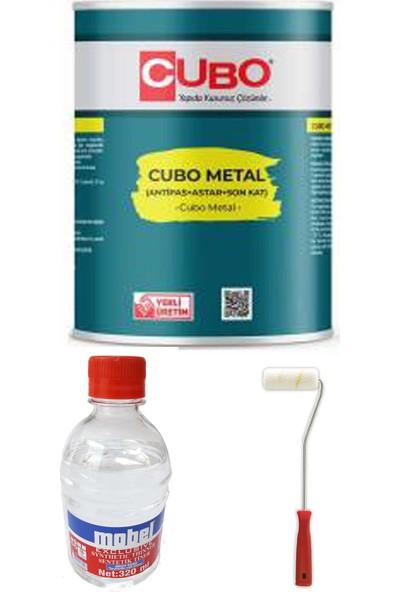Cubo 0,75 Lt Metal Boya Paketi