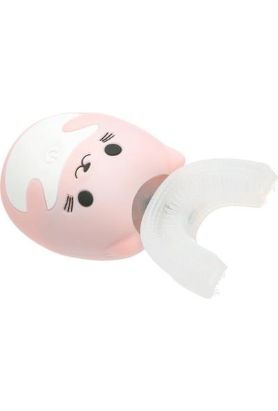 Lanbeibei Çocuk Elektrikli Diş Fırçası U Şekli Akıllı (Yurt Dışından)
