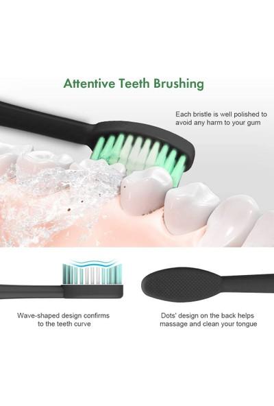 Buyfun 2'si 1 Arada Elektrikli Diş Fırçası Diş Lekeleri Için (Yurt Dışından)