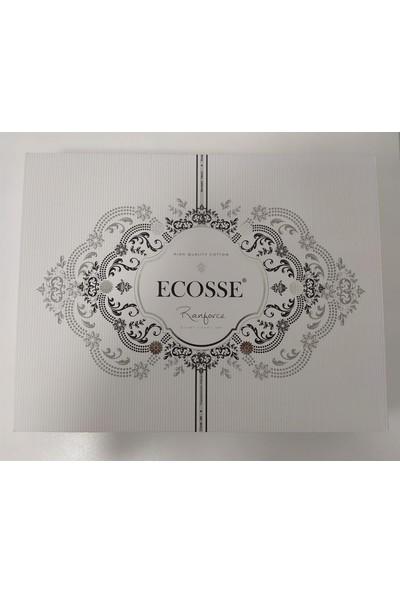 Ecosse Ecossse Elegance Aqua Çift Kişilik Nevresim Takımı
