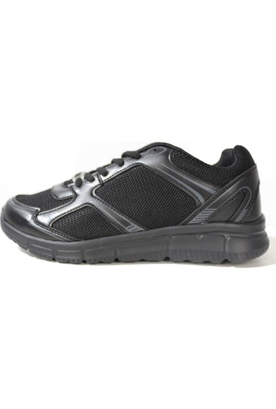 Derigo Siyah - Füme Kadın Spor Ayakkabı 701219