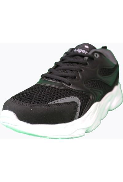 Derigo Siyah - Beyaz Kadın Spor Ayakkabı 702021