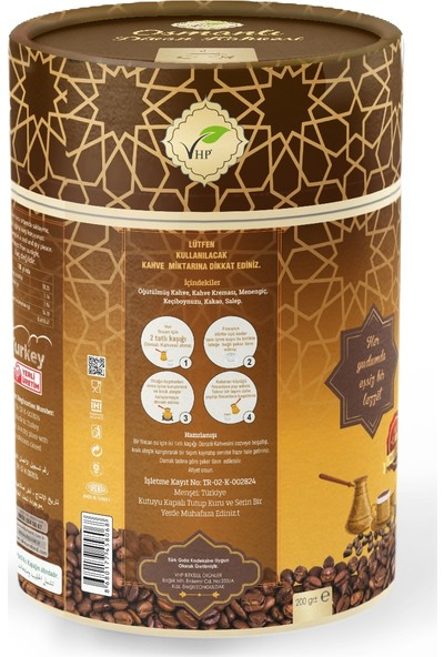 Vhp Osmanlı Divan Kahvesi 200 gr