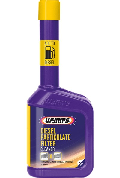 Wynn's Dpf Cleaner - Dizel Partikül Filtre Temizleyici Yakıt Katığı / Katkısı