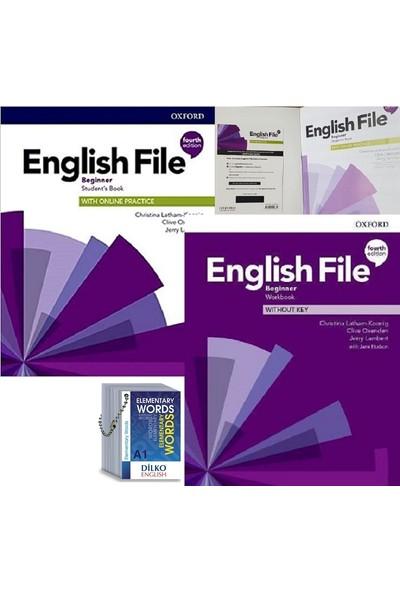 Oxford University Press English File Beginner Kod'lu Set