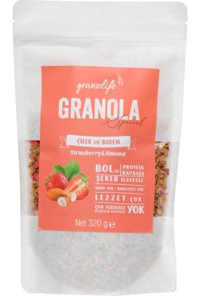 Granolife Çilekli Bademli Granola Special 320 gr