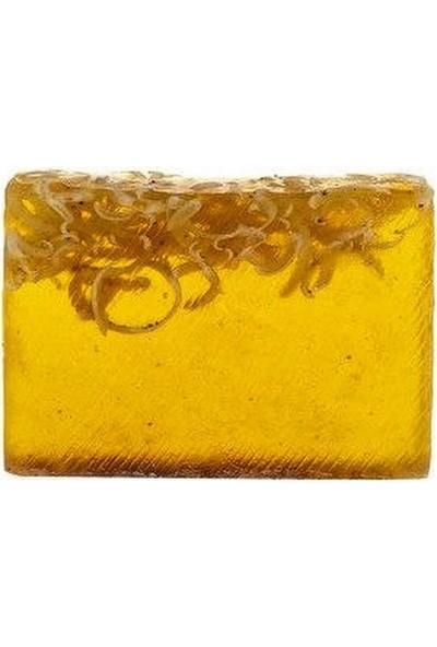 Naturel Sütlü Ballı Sabun 120 Gram El Yapımı Gliserinli