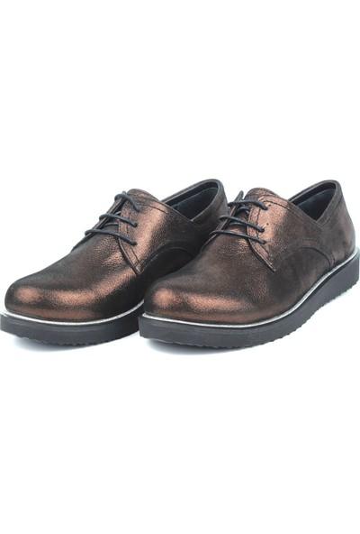 Marine Shoes Kadın Deri Babet