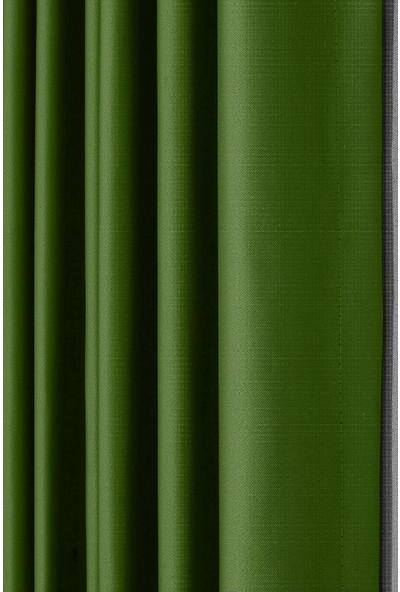 Hilal Blackout Düz Fon Perde Fıstık Yeşili