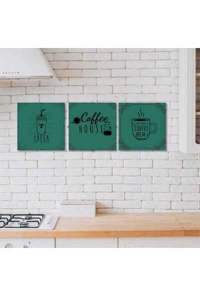 Meşgalem Ahşap Dekoratif Yazılı Coffee Mutfak Süsü