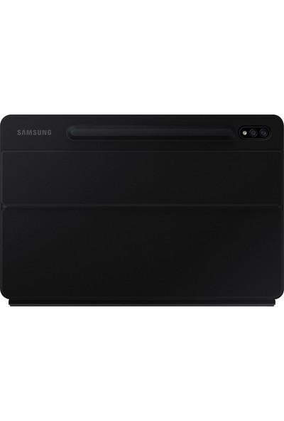 Samsung Galaxy Tab S7 Türkçe Klavyeli Kılıf - Siyah EF-DT870BBEGTR