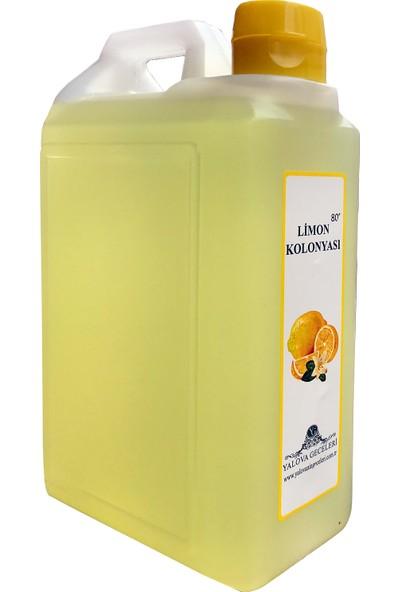 Yalova Geceleri Limon Kolonyası 1 lt. 80 Derece Şişe