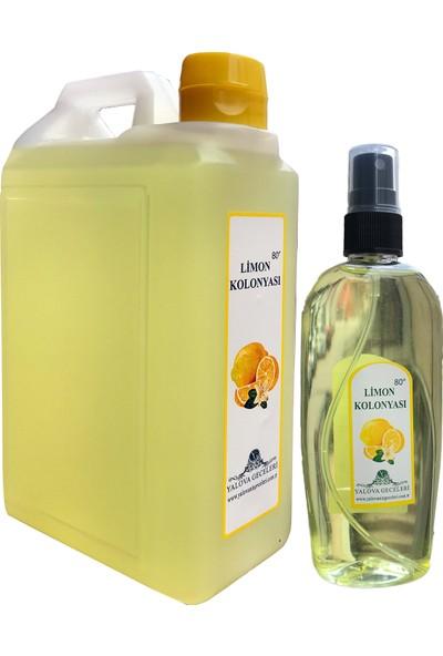 Yalova Geceleri Limon Kolonyası Şişe 1 lt + 200 ml Sprey