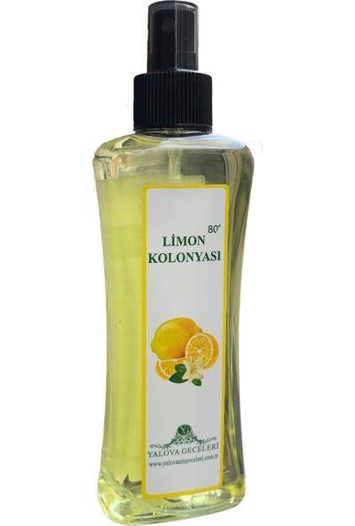Yalova Geceleri Limon KOLONYASI80 Derece 200 ml Sprey Şişe