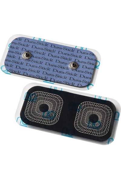 42203 Compex Durastick 5 x 10 cm Çift Çıtçıtlı Tens Elektrot Pedi
