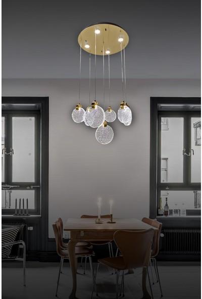 Luna Lighting Modern Luxury Sarkıt 7+4 LED Avize